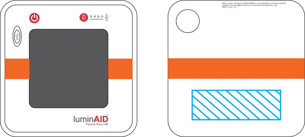 Custom LuminAIDs place your logo