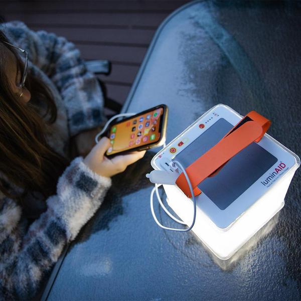 LuminAid PackLite Titan 2-in-1 Phone Charger